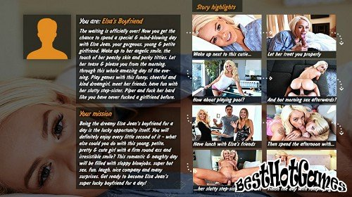 A day with Elsa Jean step-sister Piper